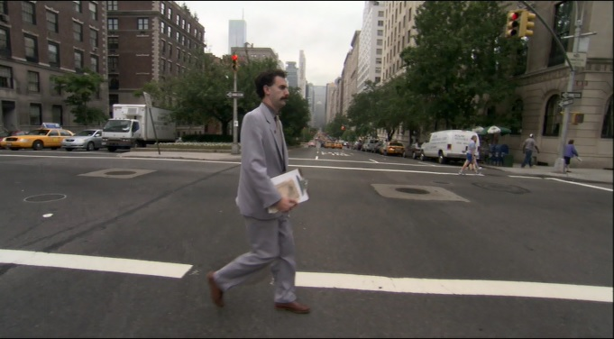 Borat (2006) Filming Locations - The Movie District